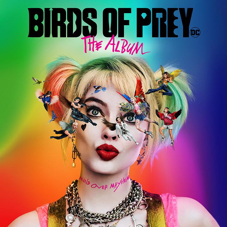 ATLANTIC RECORDS UNLEASHES BIRDS OF PREY: THE ALBUM